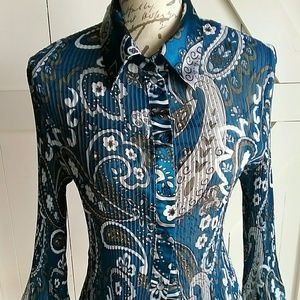 Studio 1940 long sleeve blouse